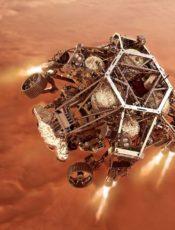 Vehículo de la NASA- PERSERVERANCE- 18/02/2021