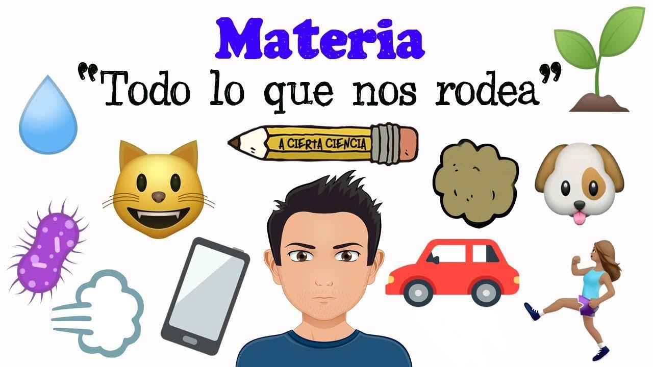 LA MATERIA Y LA ENERGÍA… BY LUCIA 4ºA